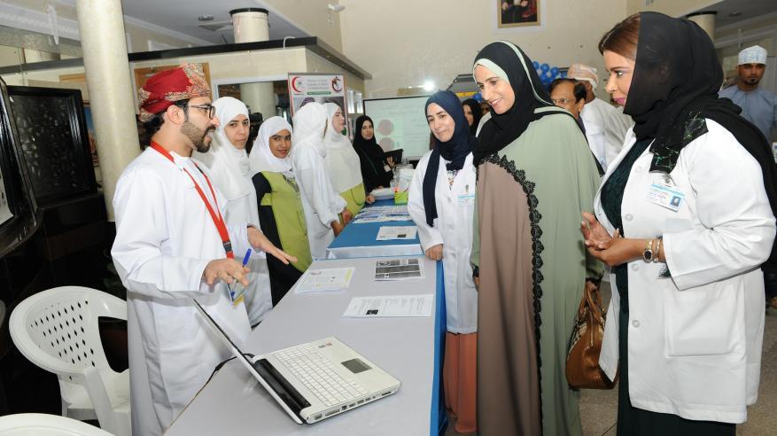 مستشفى النهضة يحتفل بيوم الإبصار العالمي