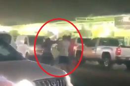 """بالفيديو... شجار في أحد شوارع الكويت بسبب """"كيكي"""""""
