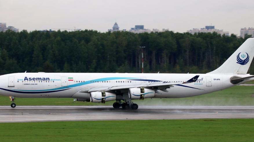 سقوط طائرة إيرانية ومصرع جميع الركاب