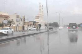 أمطار على بعض المناطق بالبريمي وشمال الباطنة