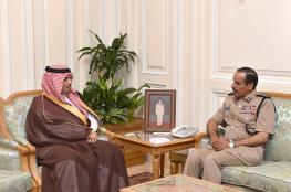 الشريقي يستقبل رئيس جامعة نايف للعلوم الأمنية بالسعودية