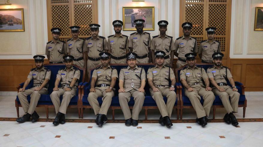 قيادة شرطة محافظة مسقط تدرب منسوبيها على نظام حوسبة المراكز وكيفية التعامل مع الجهور