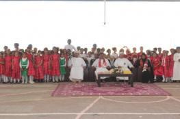 مدرسة قلهات تحتفل بالعيد الوطني