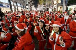 بالفيديو والصور.. احتفالات الكريسماس في العالم تحت حراسة البنادق