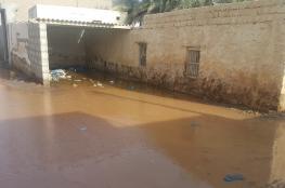 """""""تسريبات المياه"""" تهدد بسقوط منازل الفليج في جعلان بني بوعلي"""