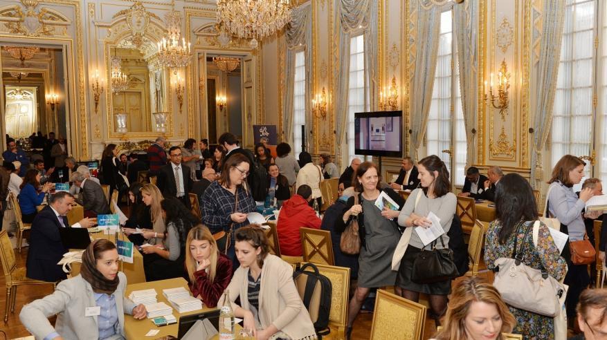 صورة أرشيفية لفعالية سابقة للشركات الفرنسية