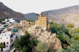 """قرية """"مري"""" بالرستاق.. مزار سياحي وتاريخي وموقع إستراتيجي"""