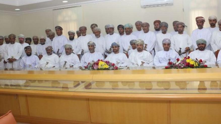 صورة جماعية للحضور الاتفاقية