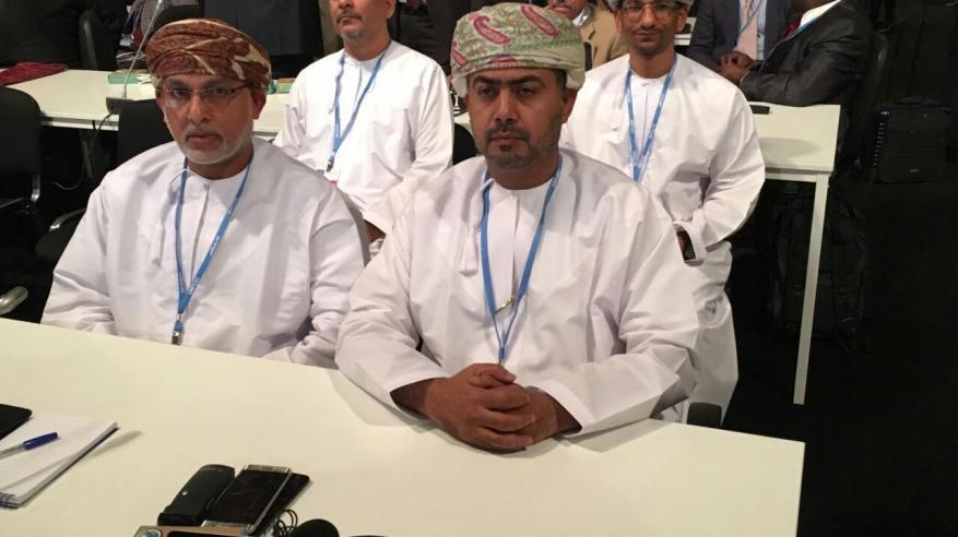 """السلطنة تشارك في أعمال واجتماعات مؤتمر """"التغير المناخي"""" بالمغرب"""