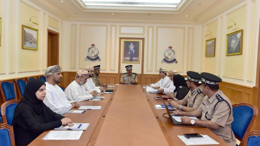 عقد الاجتماع الأول للجنة مسابقة السلامة المرورية