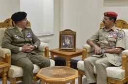 النبهاني يستقبل رئيس أركان الجيش الإيطالي