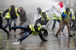 """فرنسا: باريس """"مدينة أشباح"""".. و""""السترات الصفراء"""" يغلقون الشانزليزيه"""