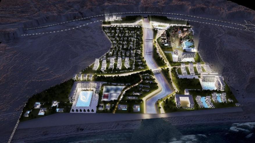 أحد مشروعات التطوير العقاري المتوقع إنشاؤها بالدقم