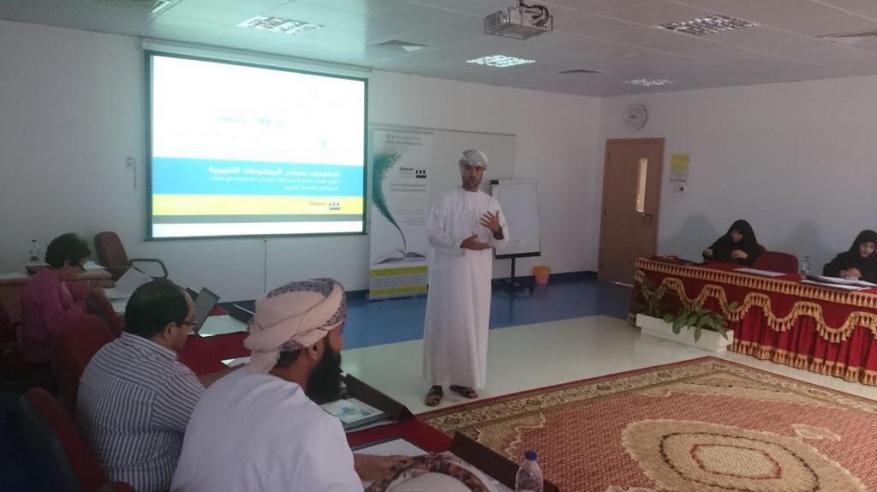 كلية التربية بجامعة السلطان قابوس تنظم برنامجا تدريبيا لطلاب الدراسات العليا