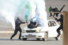 """شرطة عمان السلطانية تحتفل بذكرى """"الخامس من يناير"""" بتجديد العهد والولاء للمضي في حفظ الأمن"""