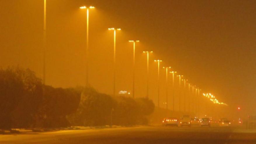 بالفيديو.. موجة غبار غير مسبوقة تجتاح السعودية