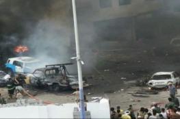 بالفيديو..اندلاع نيران بمحيط السفارة الأمريكية فى طرابلس