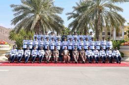 شرطة عمان السلطانية تحتفل بيومها السنوي.. وتخريج دورات من الضباط المرشحين