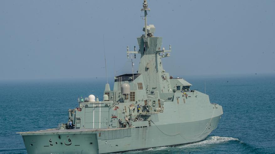 أسطول القوة البحرية يتفاعل عملياتيا مع المهام العسكرية