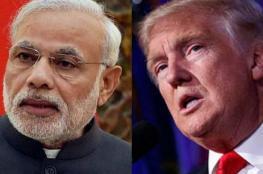"""""""بلومبرج"""": ترامب يفجر حربا تجارية جديدة مع الهند"""