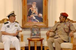 النبهاني يستقبل قائد الأسطول البحري الصيني