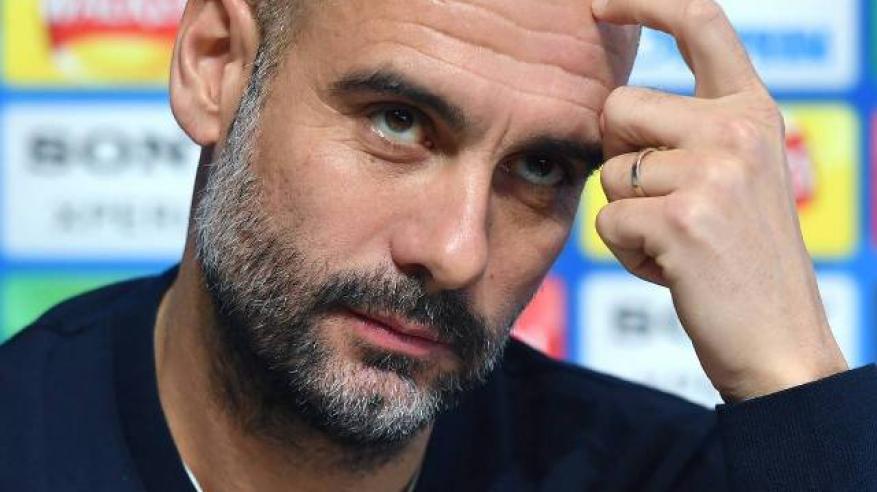 جوارديولا يتطلع لحسم مستقبل سترلينج مع مانشستر سيتي