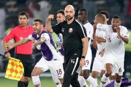 مدرب قطر يعلق لأول مرة على أحداث مباراة الإمارات