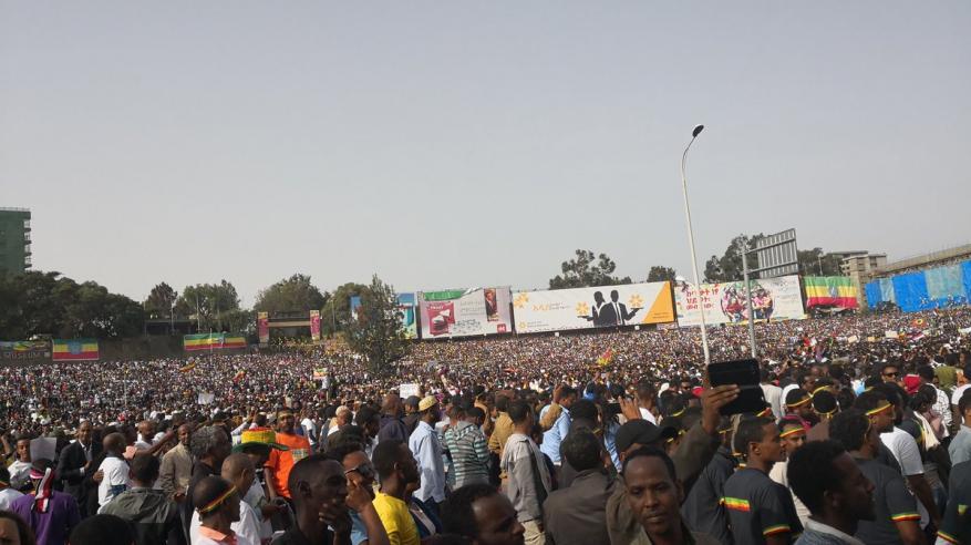 إثيوبيا: قتيل وعشرات المصابين في هجوم استهدف رئيس الوزراء وسط مؤيديه