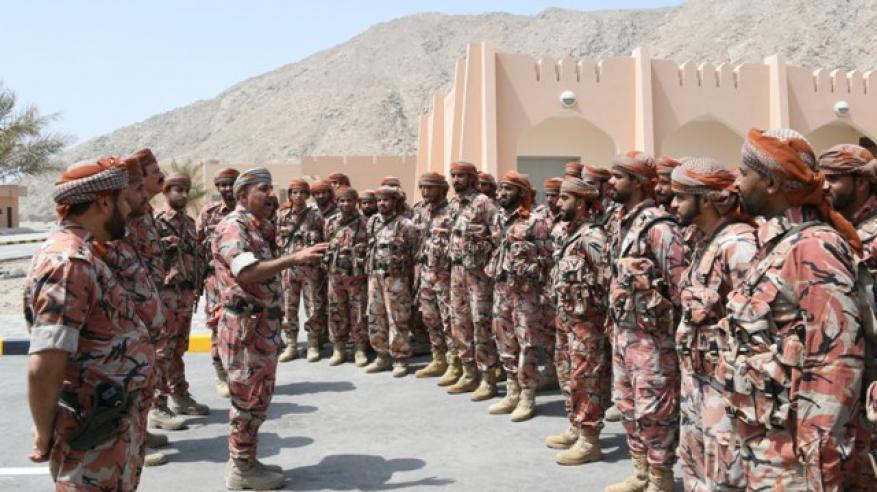 زيارات عسكرية لمسندم (1)