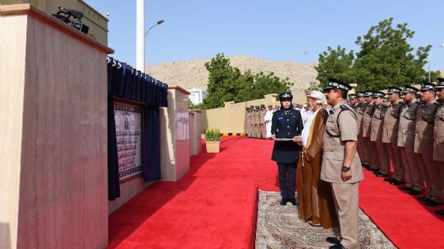 الشرطة تحتفل بافتتاح المبنى الجديد لمركز شرطة روي1
