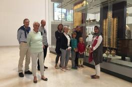وفد سياحي ألماني يزور المتحف الوطني