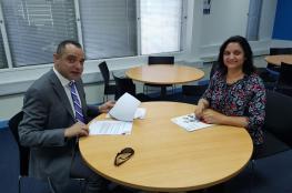 كلية البريمي توقع اتفاقية تعاون مع المجلس الثقافي البريطاني