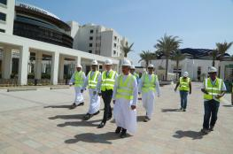 """""""عمران"""" تحقق تقدما ملموسا في أعمال تطوير فندق """"جي دبليو ماريوت"""" بمدينة العرفان"""