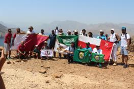"""مغامرو """"هايكنج عمان"""" يشاركون في تجمع خليجي بخصب"""