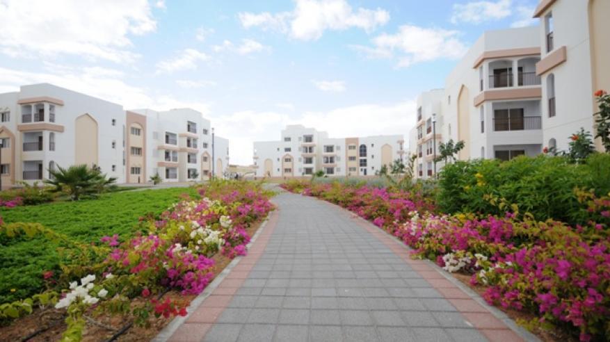 شقق سكنية بمدينة واجهة الدقم
