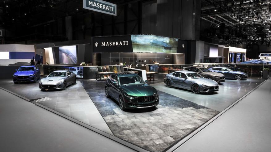 Maserati Stand at Geneva Motor Show 2019