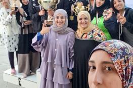 """جامعة السلطان قابوس """"الأول"""" ببطولة السباحة للفتيات"""