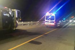 وفاة شخصين في حادث تصادم بين مركبتين بالرستاق