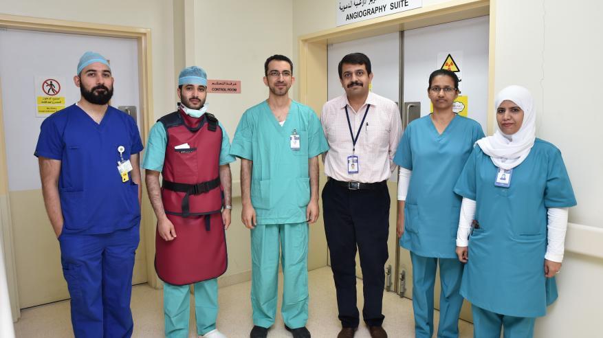 مستشفى خولة ينجح في إجراء عمليات تمدد الأوعية الدموية