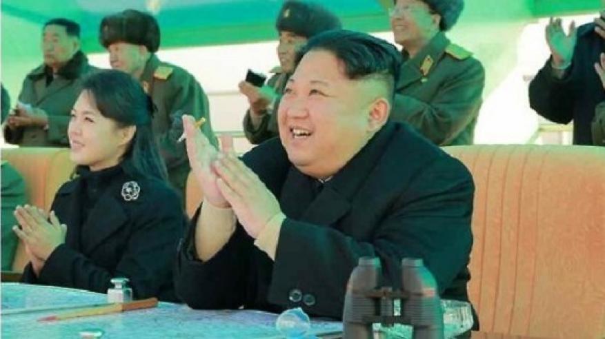 ظهور نادر لزعيم كوريا الشمالية وزوجته
