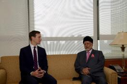 بن علوي يناقش مع كوشنر تحقيق السلام في إطار حل الدولتين .. ويلتقي وزراء خارجية الجزائر وإيرلندا وبلغاريا