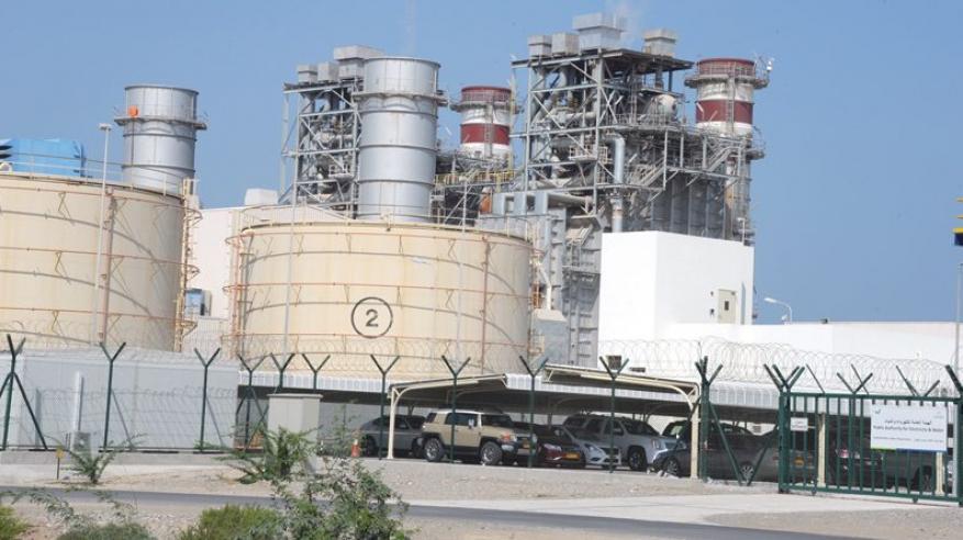 13.65 ألف جيجا واط في الساعة إنتاج السلطنة من الكهرباء بنهاية مايو