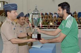 ختام البطولة الرياضية لضباط سلاح الجو السلطاني العماني
