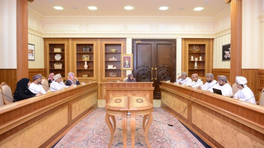 أثناء مناقشة لجنة الدعم