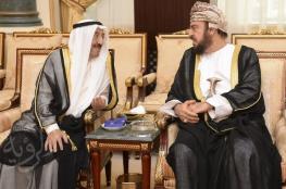 تعازي جلالة السلطان إلى أمير الكويت ينقلها السيد أسعد