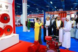 """""""السعيدي للهندسة والتجارة"""" تشارك في معرض عمان للأمن والسلامة بجناح لأحدث تقنيات الإطفاء والإنذار"""