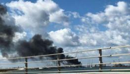 حكومة طرابلس تعلق المحادثات مع قوات شرق ليبيا بعد قصف حفتر لميناء العاصمة.jpg
