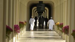 طلاب جامعة السلطان قابوس أرشيفية.JPG