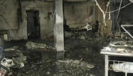 حريق بمستشفى كورونا.jpg