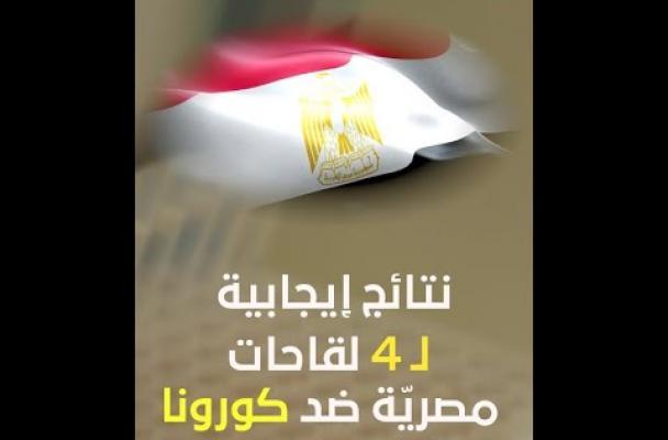 نتائج إيجابية لـ 4 لقاحات مصريّة ضد كورونا